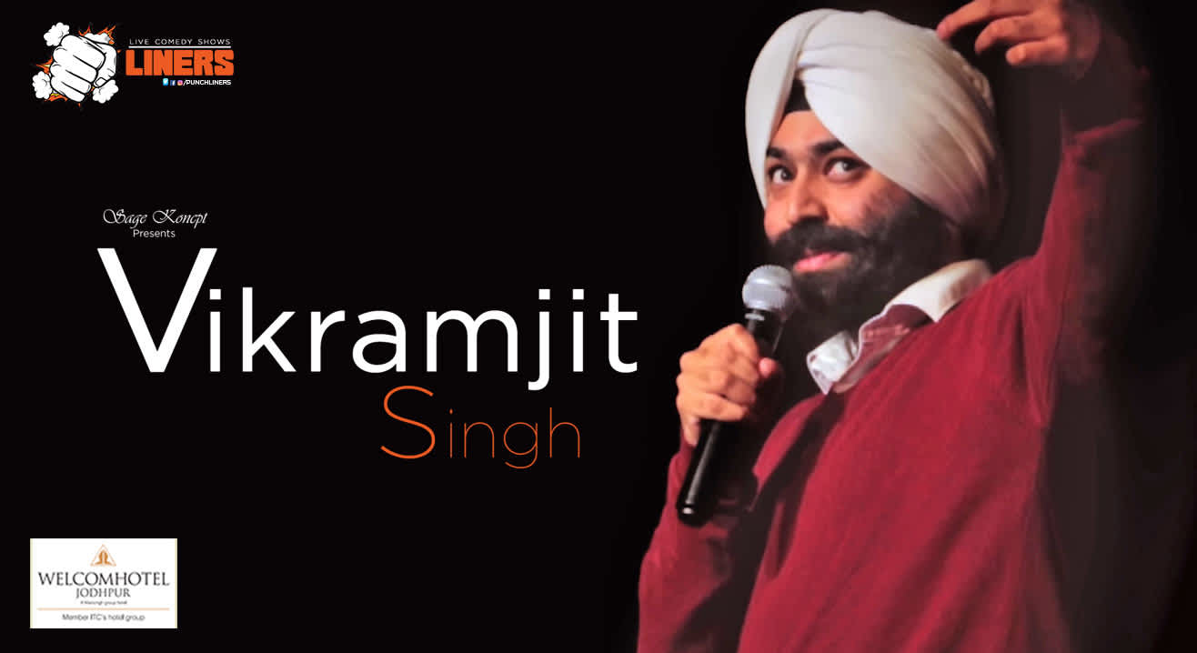 Punchliners: Stand Up Comedy Show at Welcom Hotel Jodhpur ft. Vikramjit Singh