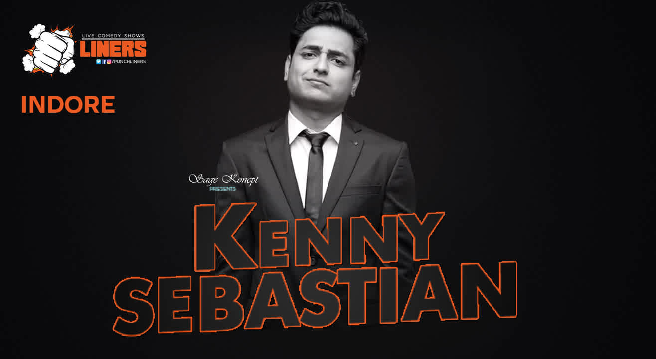 Punchliners Presents Standup Comedy Show Feat Kenny Sebastian in Indore