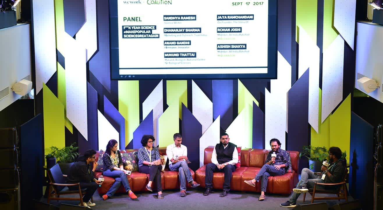 The Coalition, Bangalore: 3 days at the Festival of Creativity