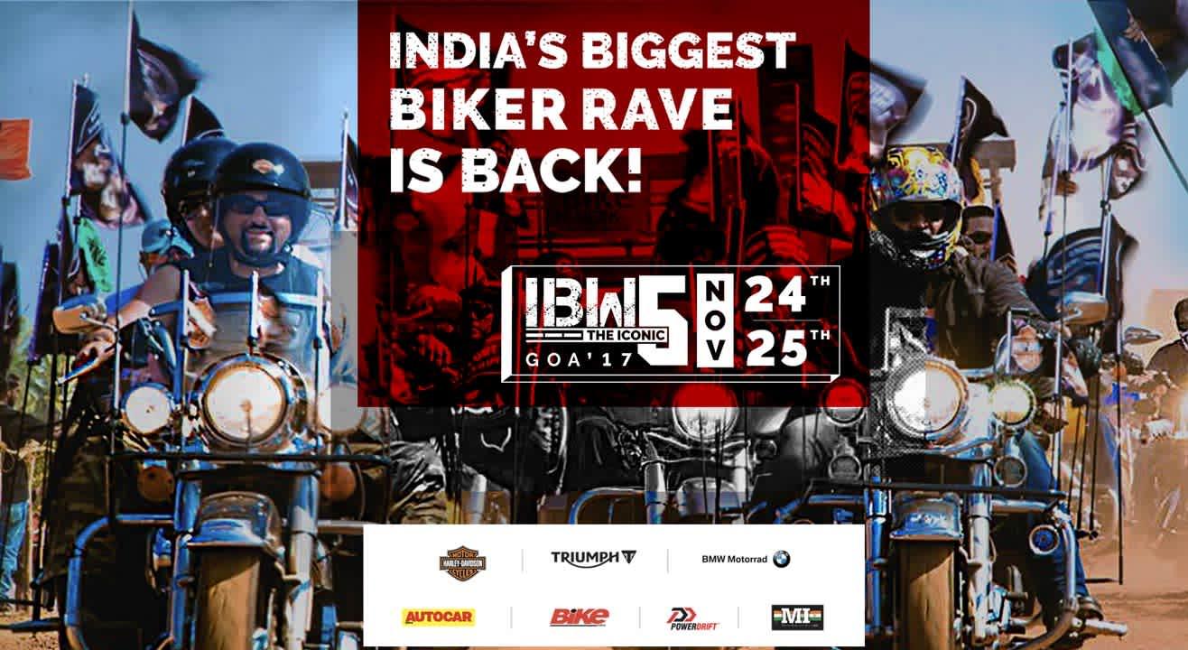 India Bike Week 2017: India's Biggest Biker Rave!