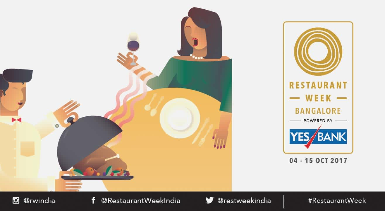 Restaurant Week Bangalore powered by YES BANK: October 4th – 15th, 2017