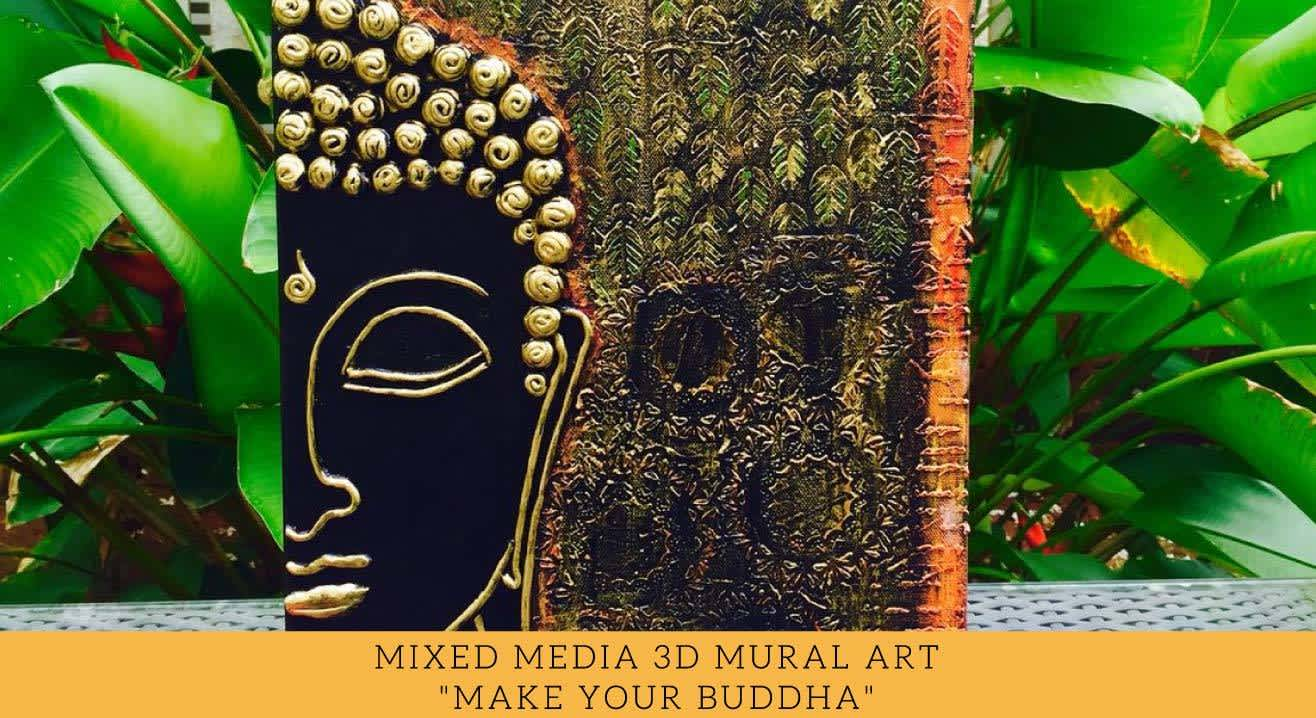 Mixed Media 3D Mural Art Workshop