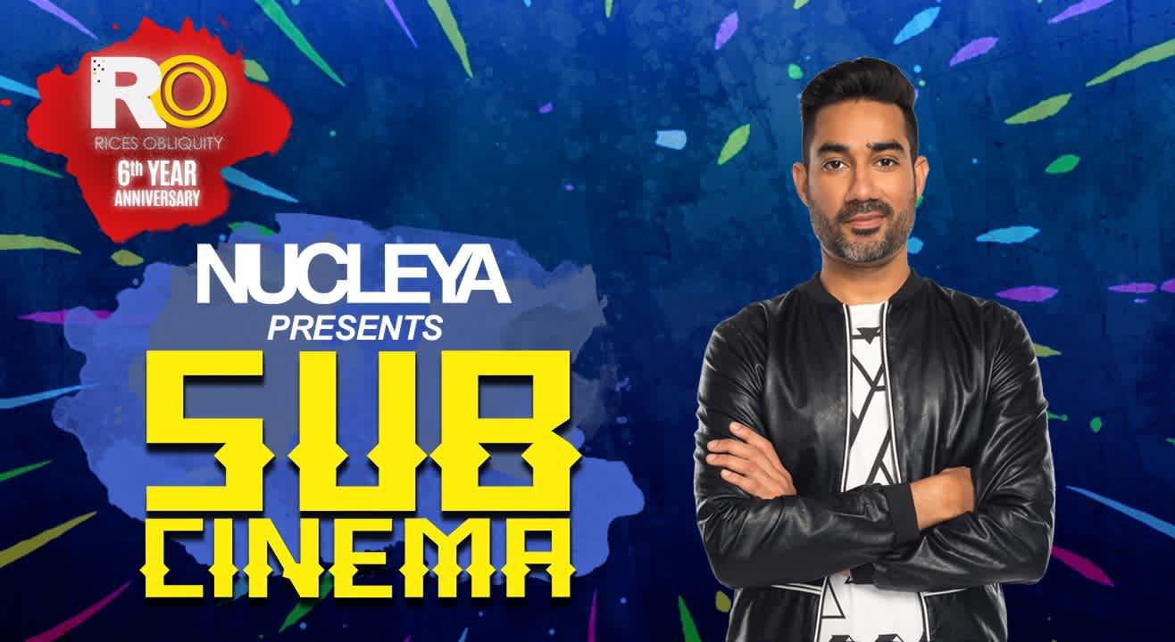 RO & Nucleya Present Sub Cinema, Bangalore
