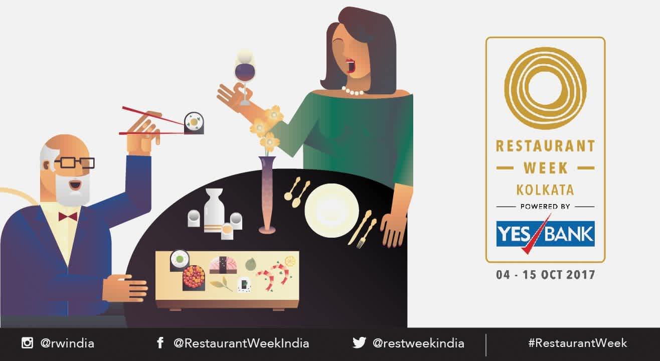 Restaurant Week Kolkata powered by YES BANK: October 4th – 15th, 2017