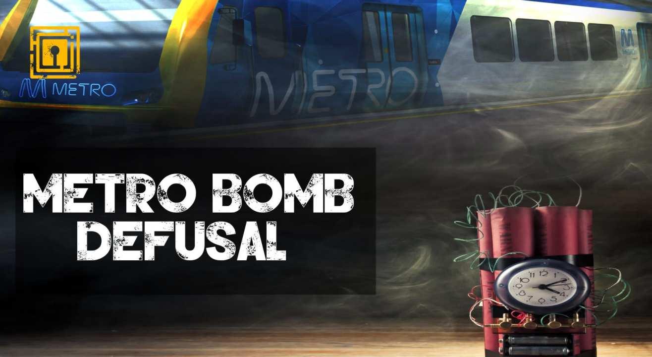 The Amazing Escape: Metro Bomb Defusal