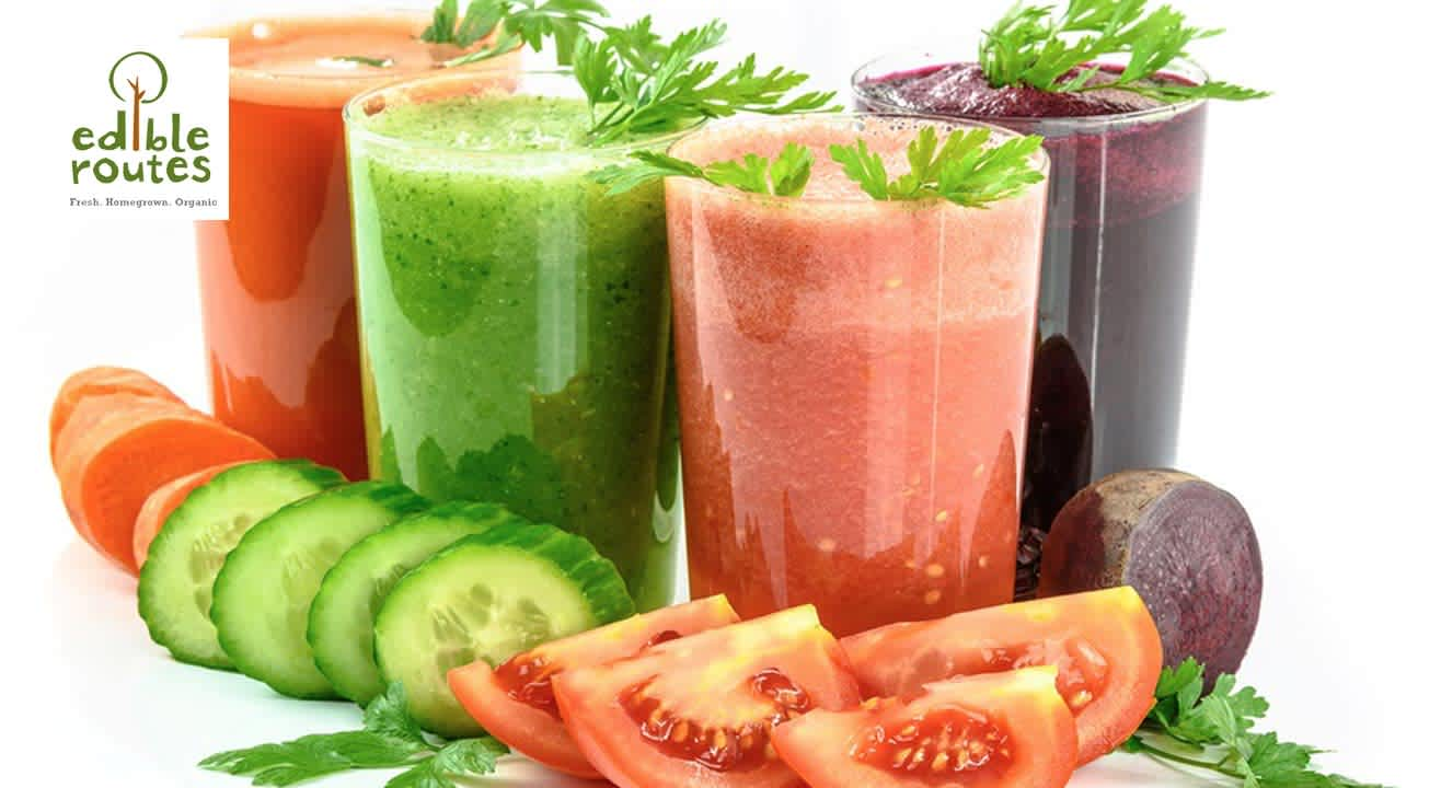 Healthy Juices - Home Grown And Home Made