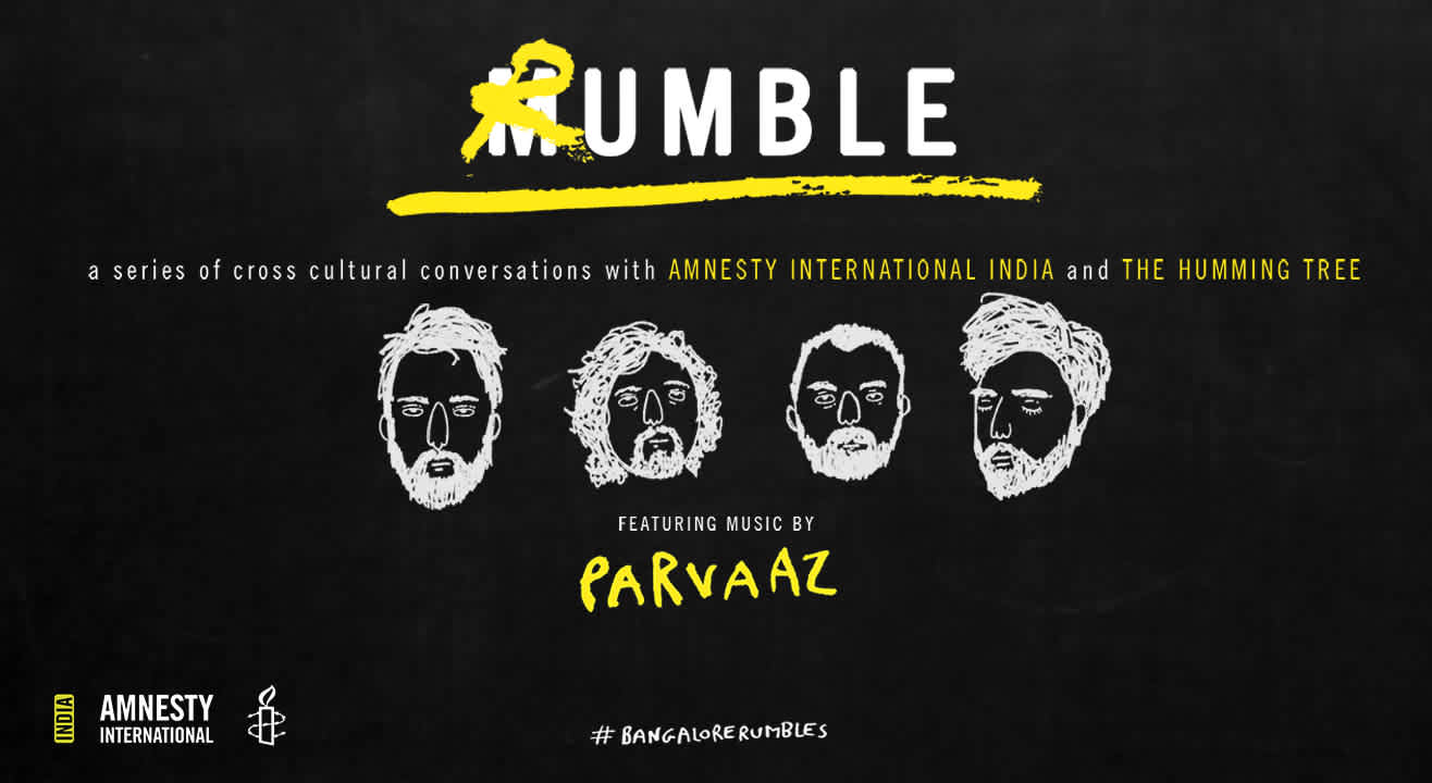 THT x Amnesty International India : The Launch of Rumble ft. Music by Parvaaz