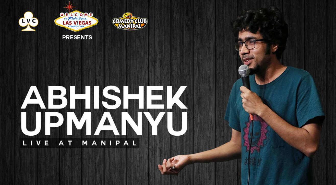 Abhishek Upmanyu Live at Manipal