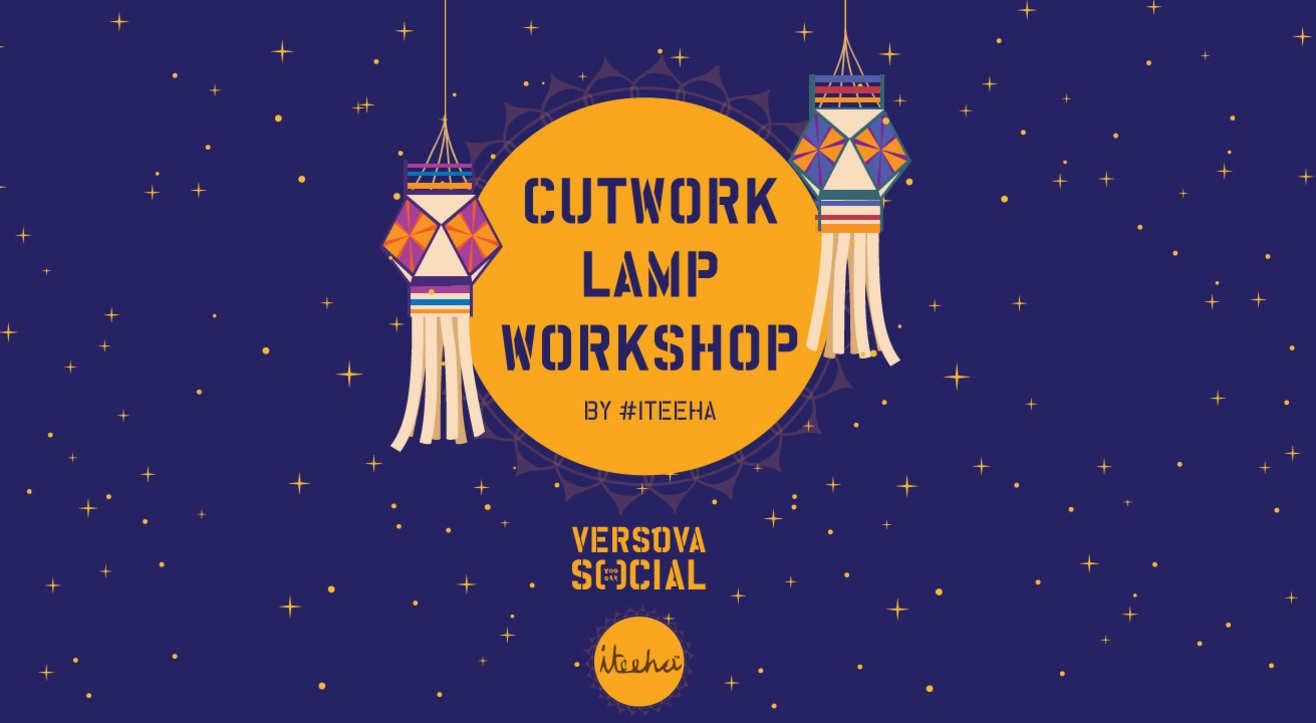 DIY Cutwork Lamp Workshop by #Iteeha