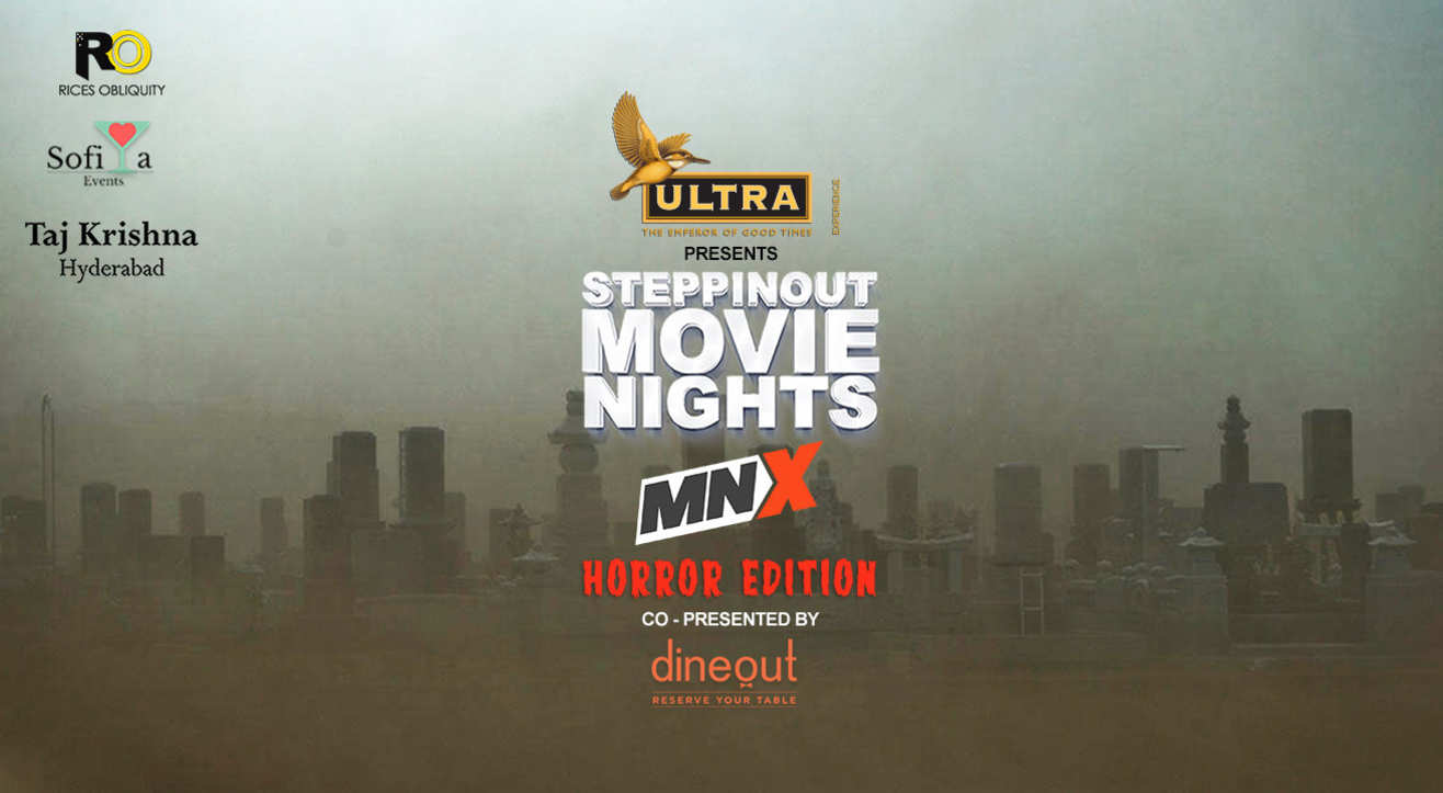SteppinOut Movie Nights - Horror Edition, Hyderabad