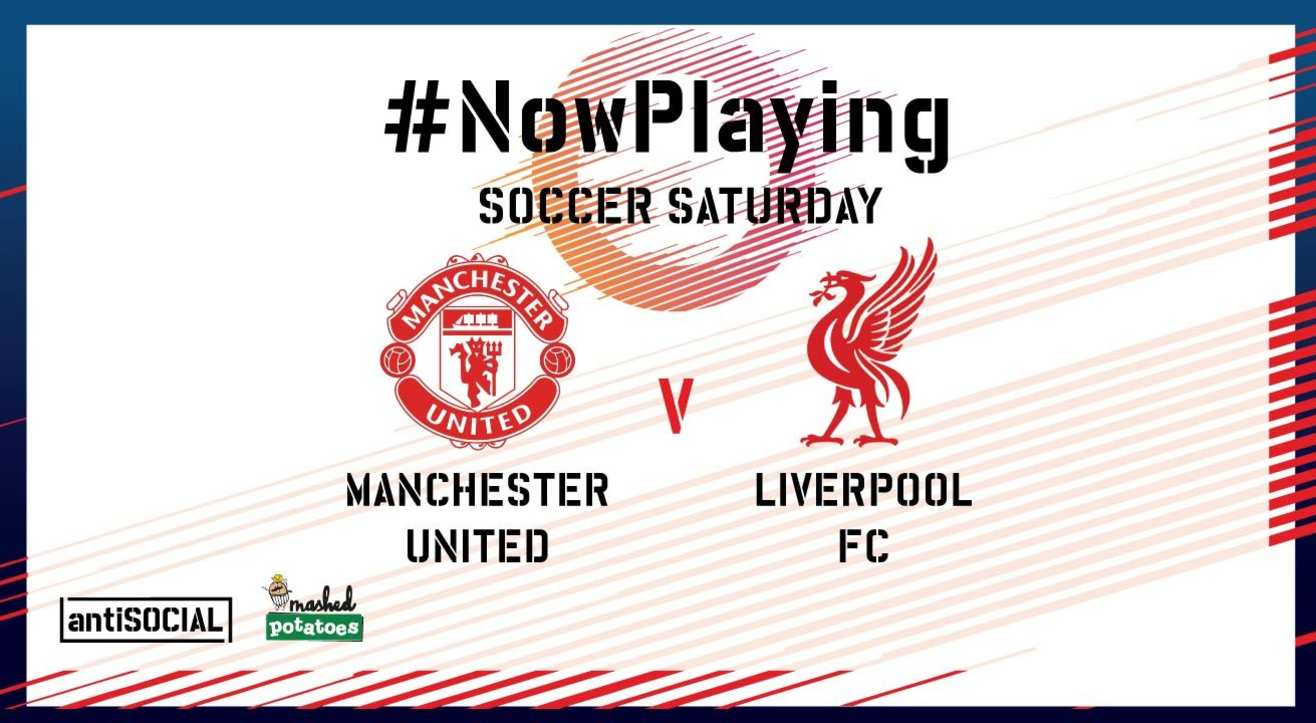 #NowPlaying Manchester United vs Liverpool FC