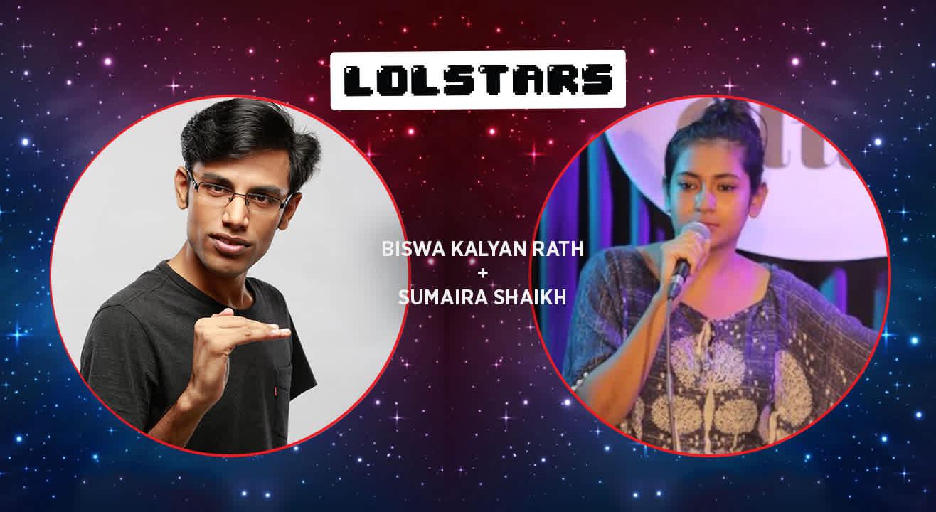 LOLStars Biswa Kalyan Rath & Sumaira Shaikh, Hyderabad