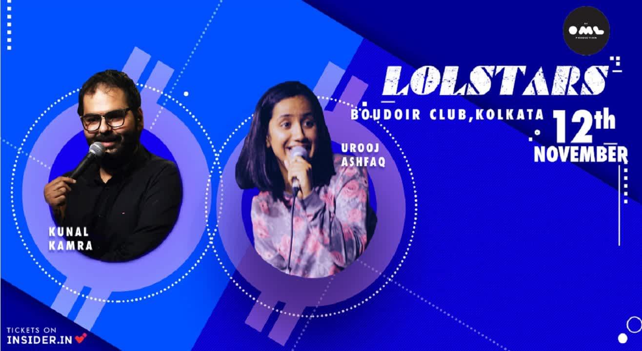 LOLStars Present Kunal Kamra & Urooj Ashfaq, Kolkata