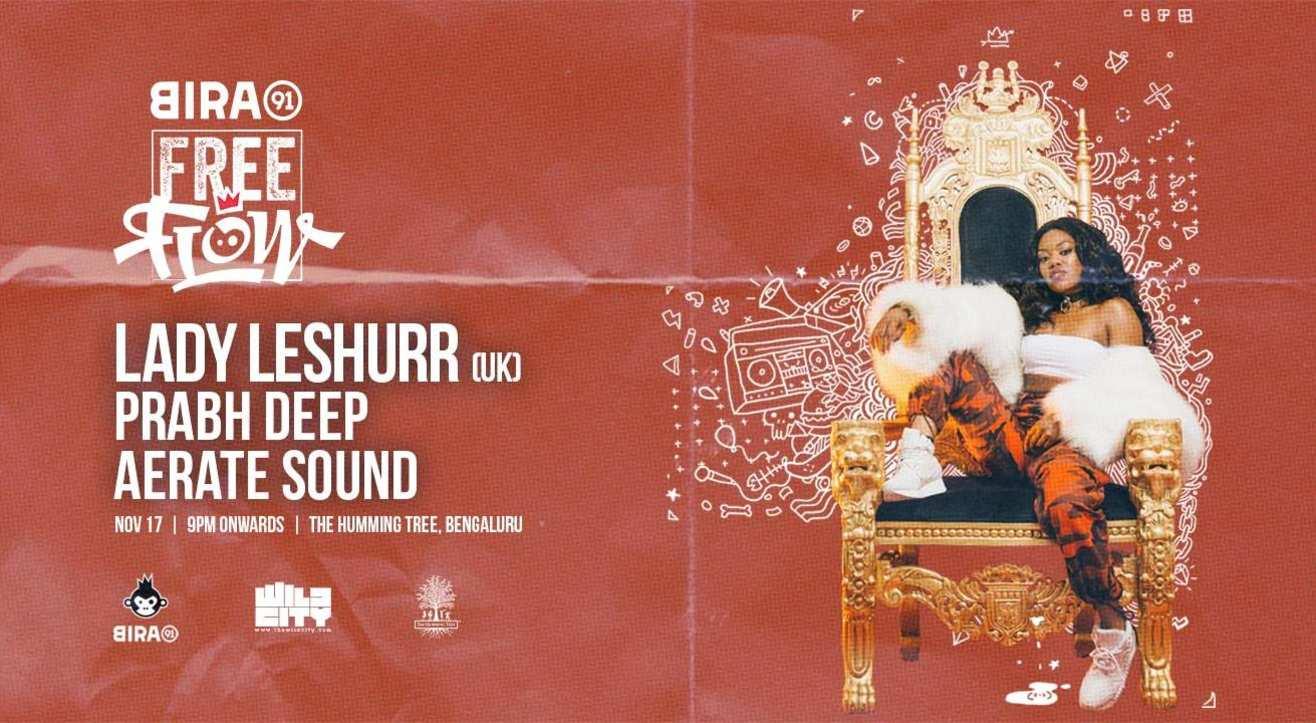 Bira 91 FreeFlow ft Lady Leshurr, Prabh Deep & Aerate Sound