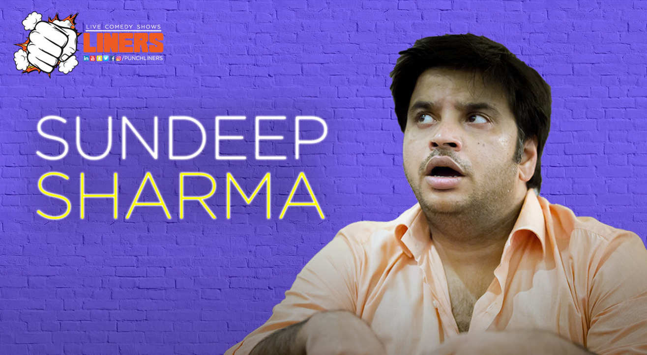 Punchliners: Standup Comedy Show ft. Sundeep Sharma in Delhi