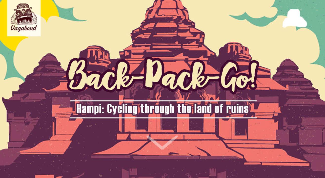 Hampi- Cycling Through The Land Of Ruins