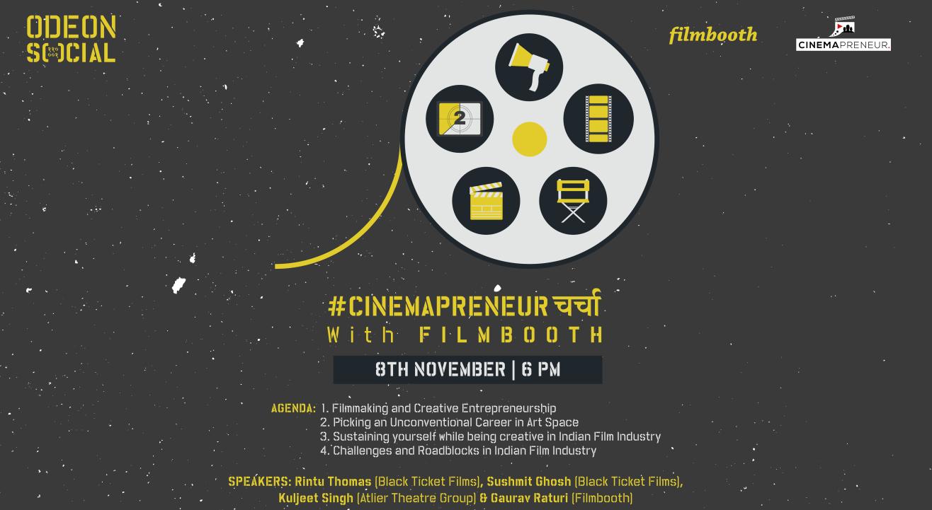 Social Presents #Cinemapreneurचर्चा with Filmbooth