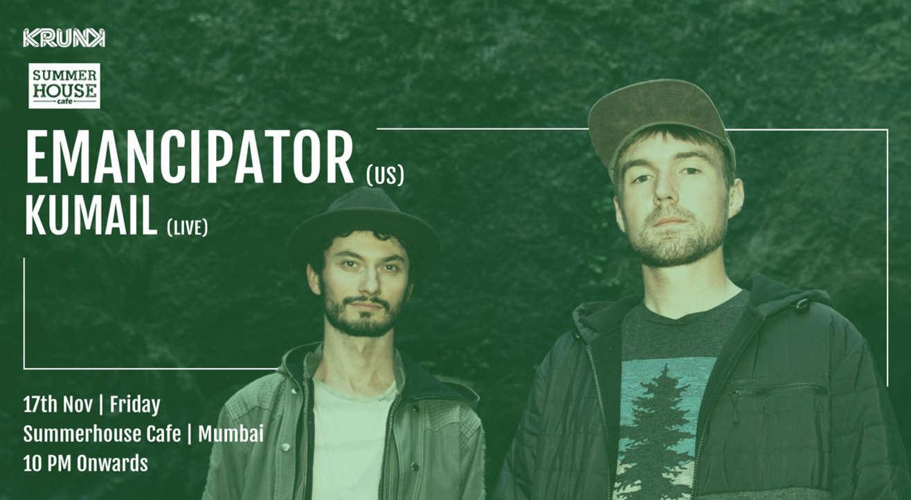 KRUNK Presents: Emancipator | Support: Kumail (Live)