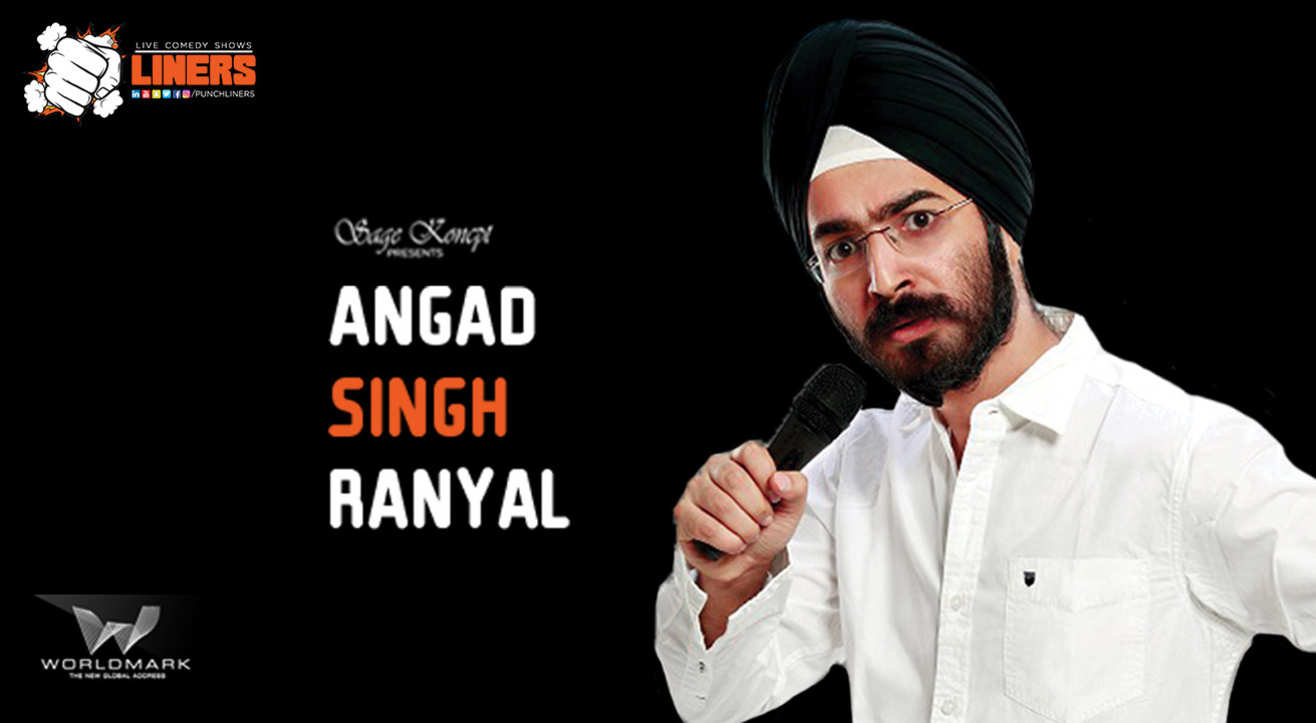 Punchliners: Standup Comedy Show ft. Angad Singh Ranyal  in Delhi