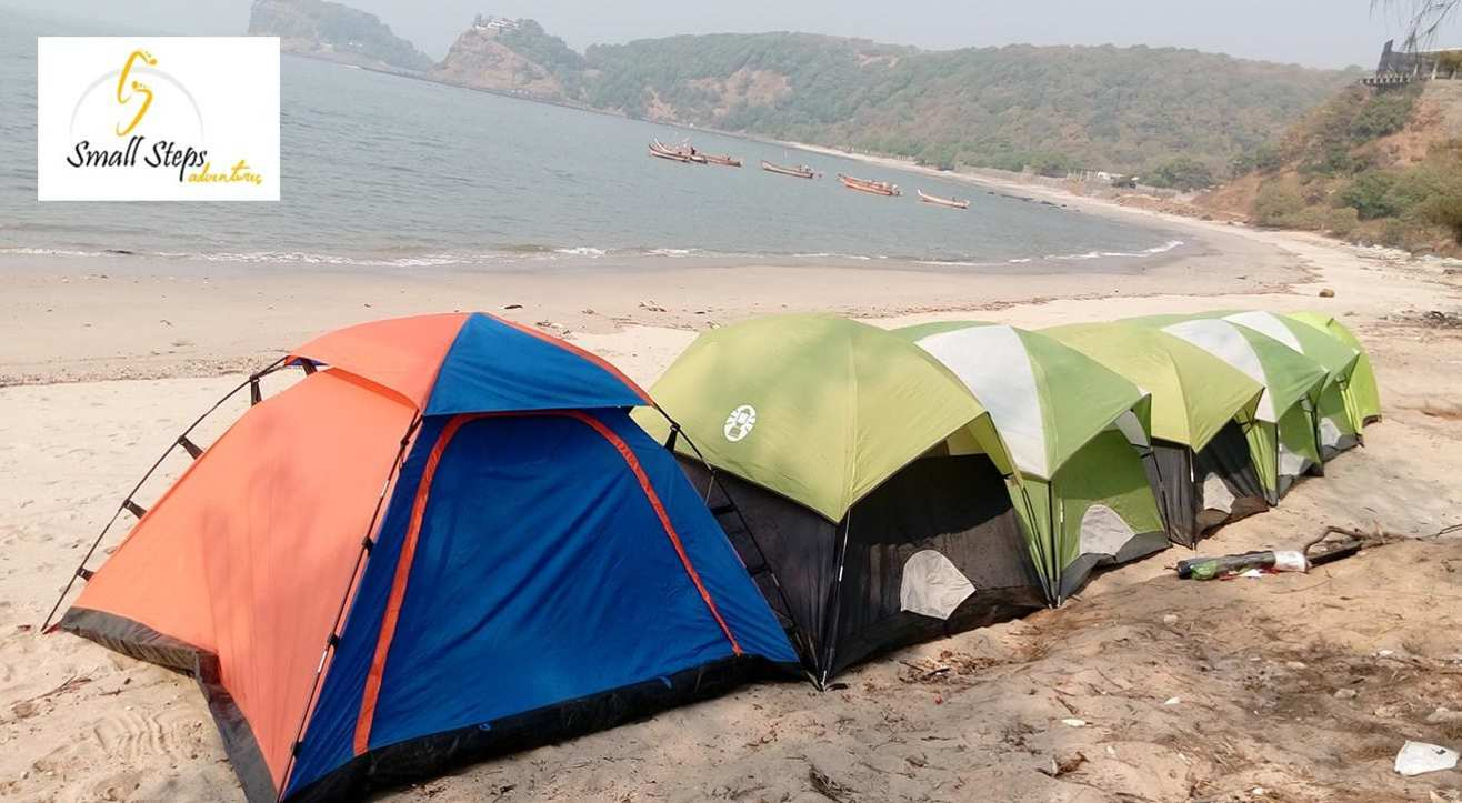 Beachside Camping near Kashid beach, Alibaug