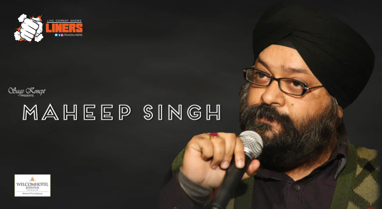 Punchliners: Standup Comedy Show ft. Maheep Singh in Jodhpur
