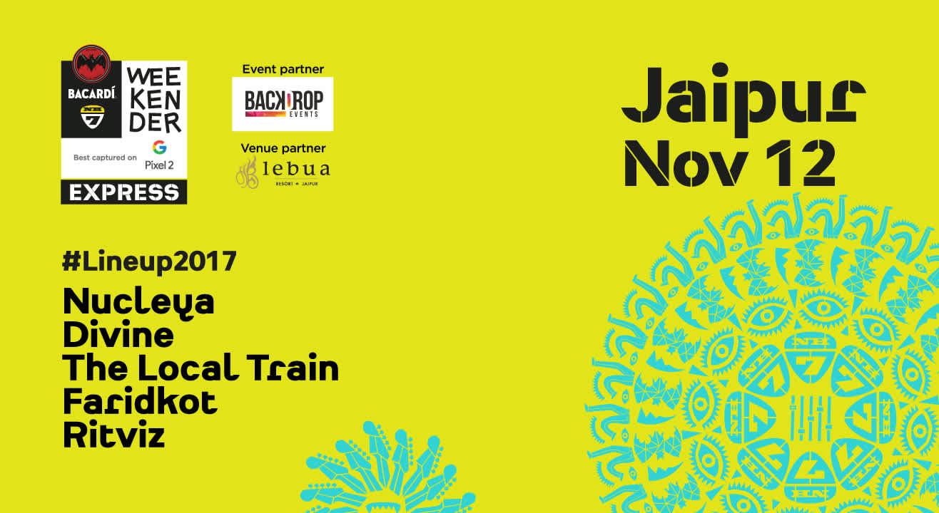 Bacardi NH7 Weekender Express, Jaipur