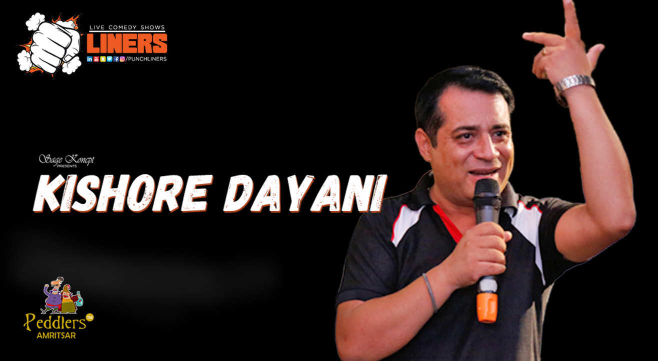 PunchLiners: Standup Comedy Show ft. Kishore Dayani in Amritsar