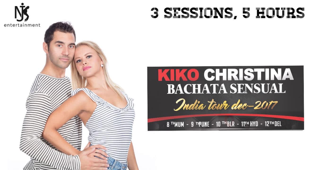 Kiko Christina's Bachata Sensual India Tour, Pune