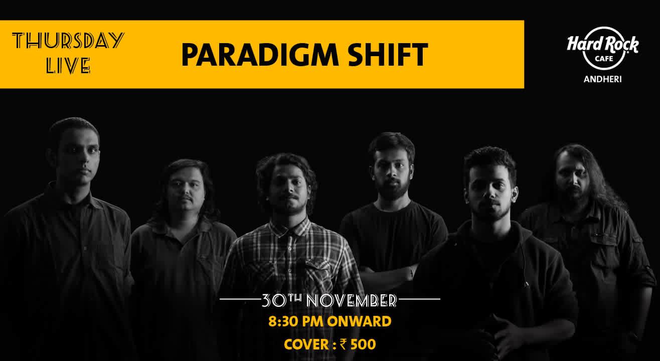 Paradigm Shift - Thursday Live!