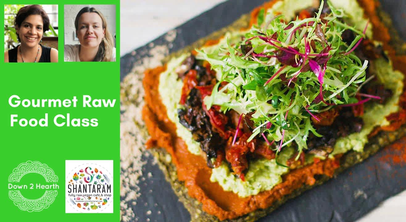 Gourmet Raw Food class by Vinita Contractor & Masha Kube