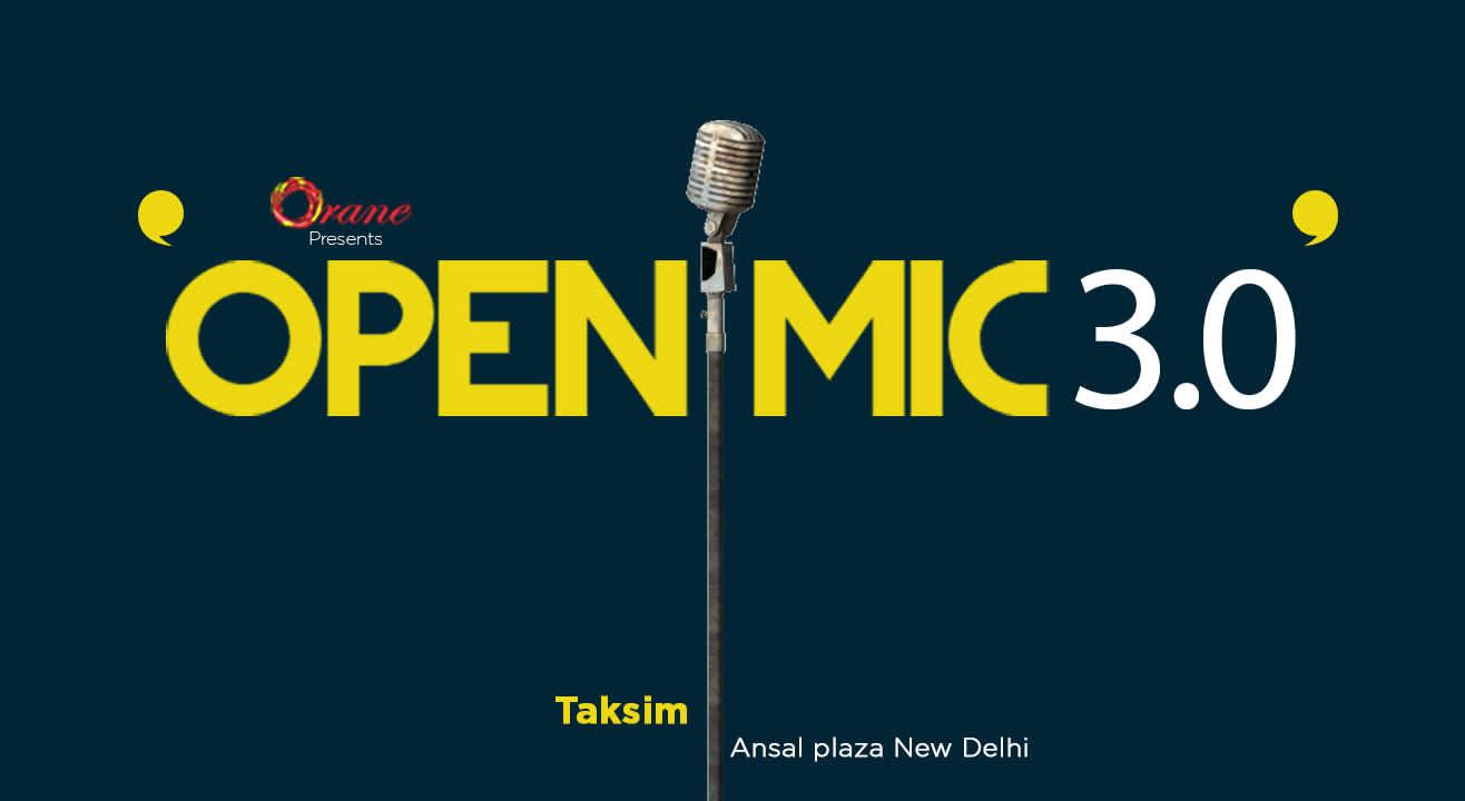 Open Mic 3.0