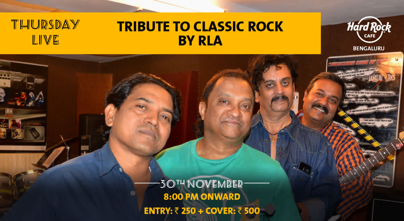 Tribute to Classic Rock by RLA - Thursday Live!