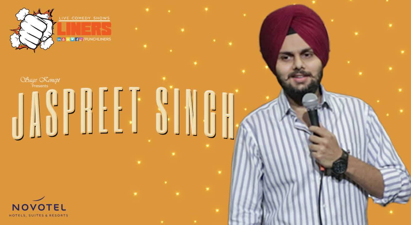 PunchLiners: Standup Comedy Show ft. Jaspreet Singh in Lucknow