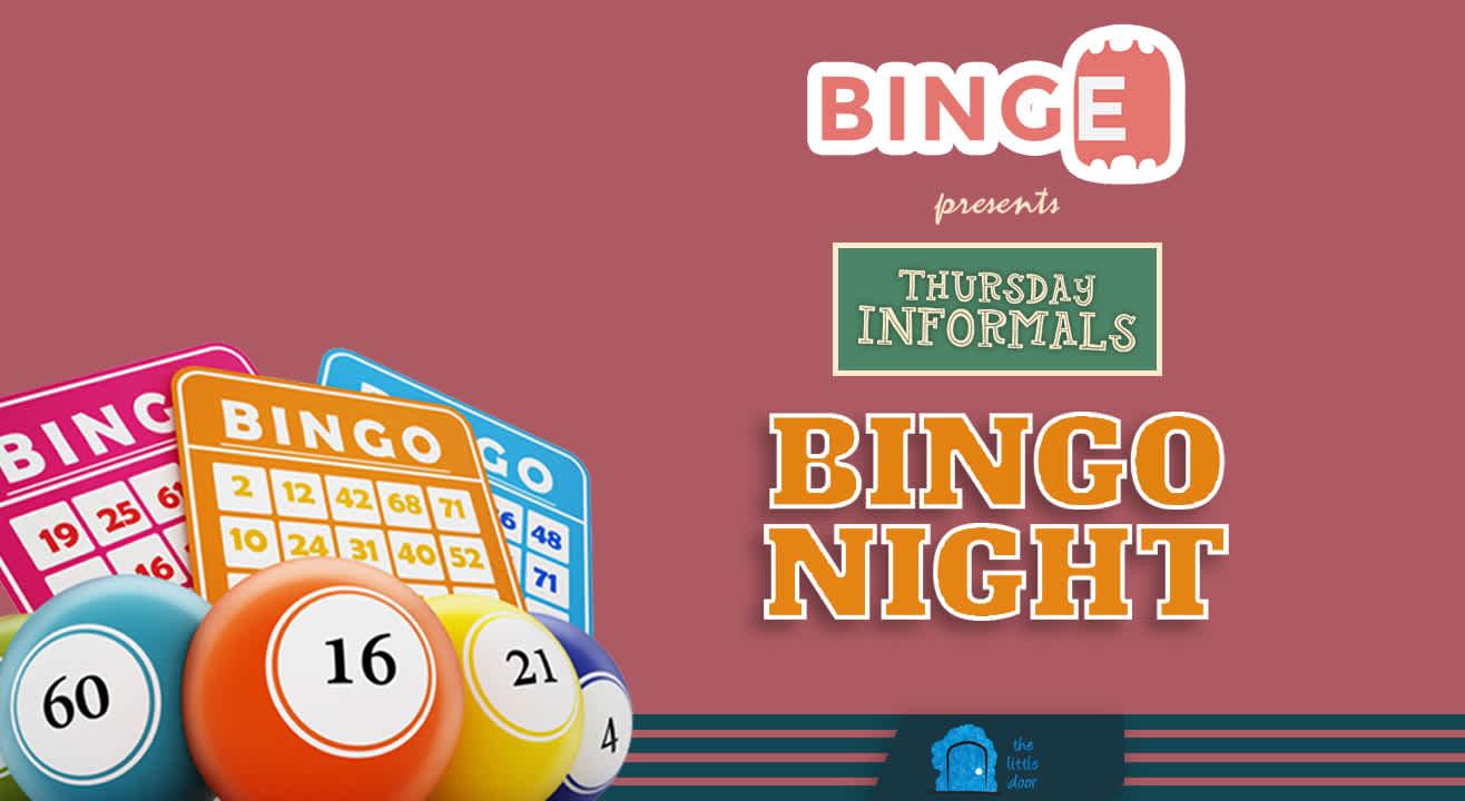 Thursday Informals- Bingo Night