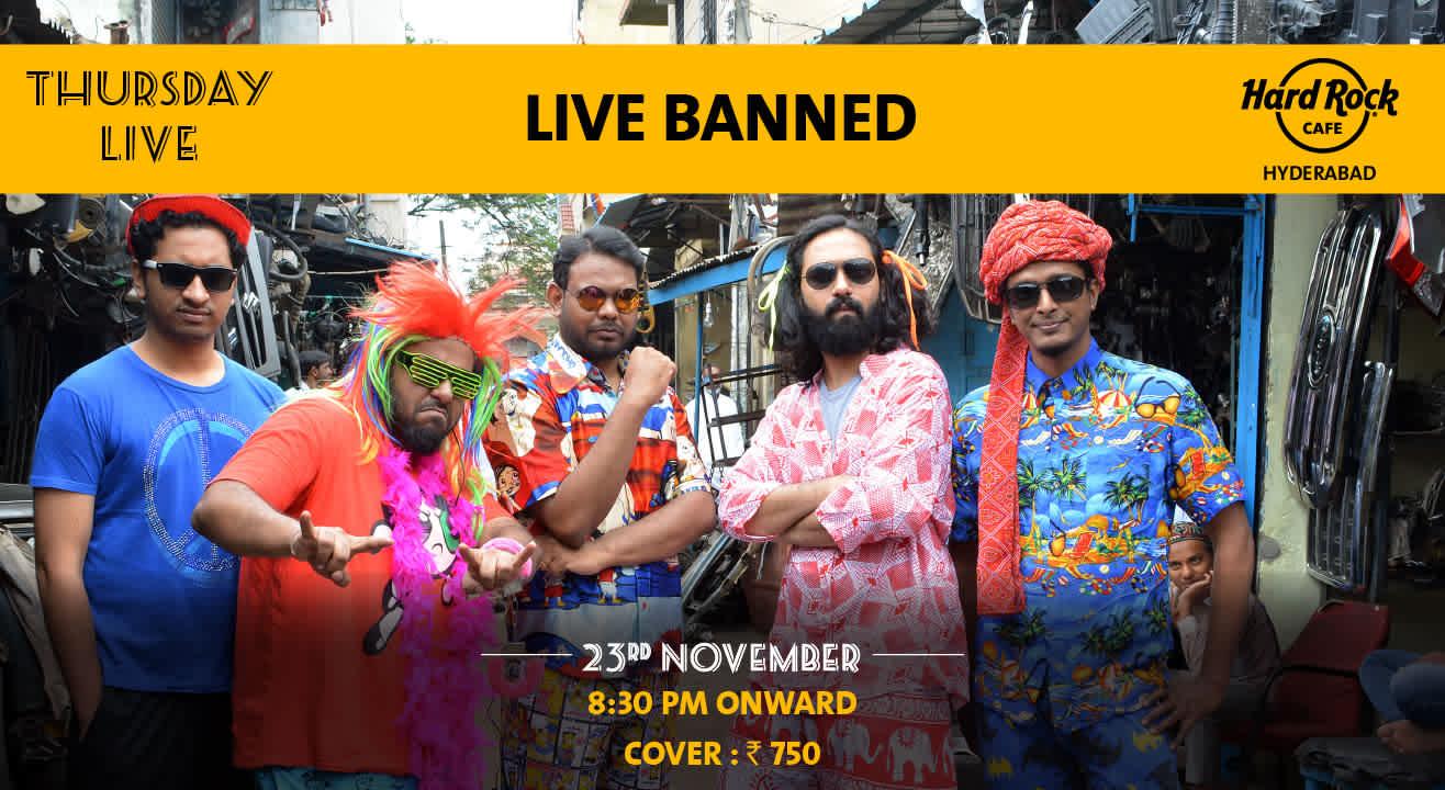 Live Banned - Thursday Live!