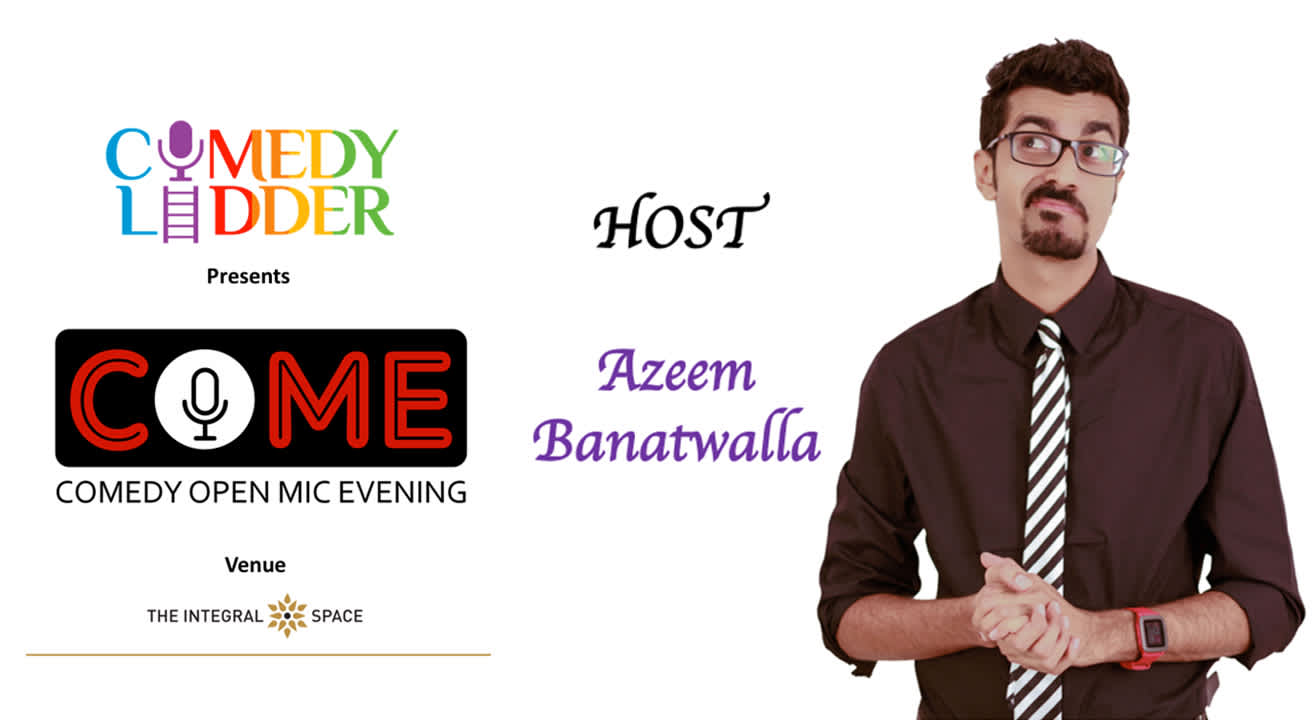 Comedy Ladder Presents 101 COME - Comedy Open Mic Evening