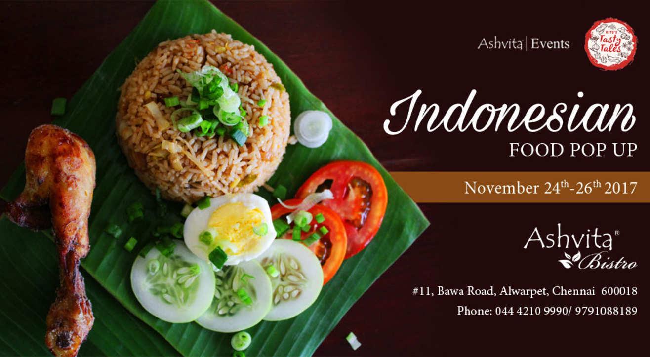 Indonesian Food Pop-Up