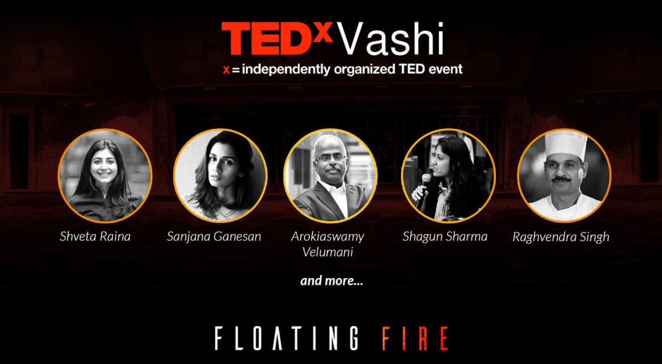 TEDxVashi - Floating fire