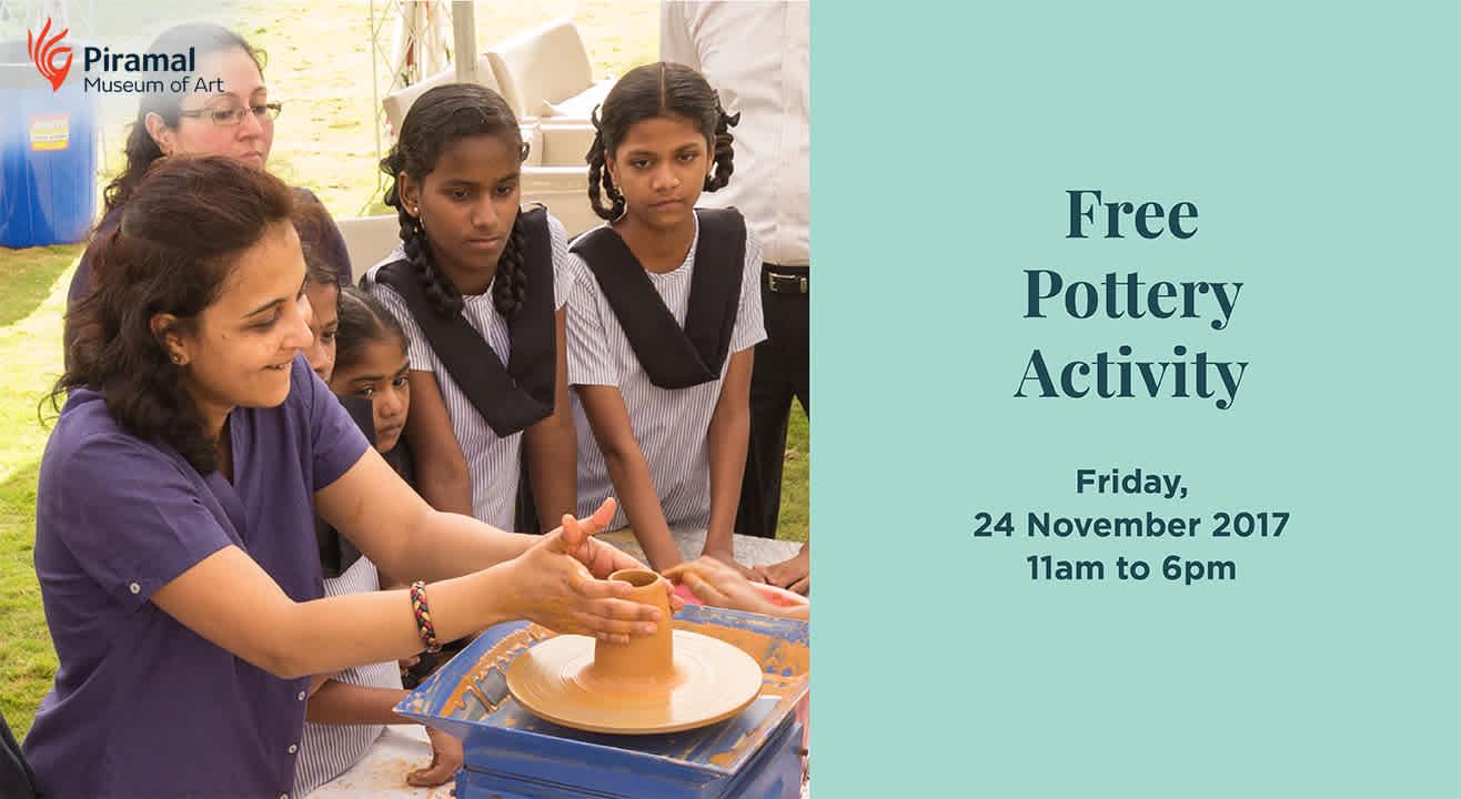 Free Pottery Activity