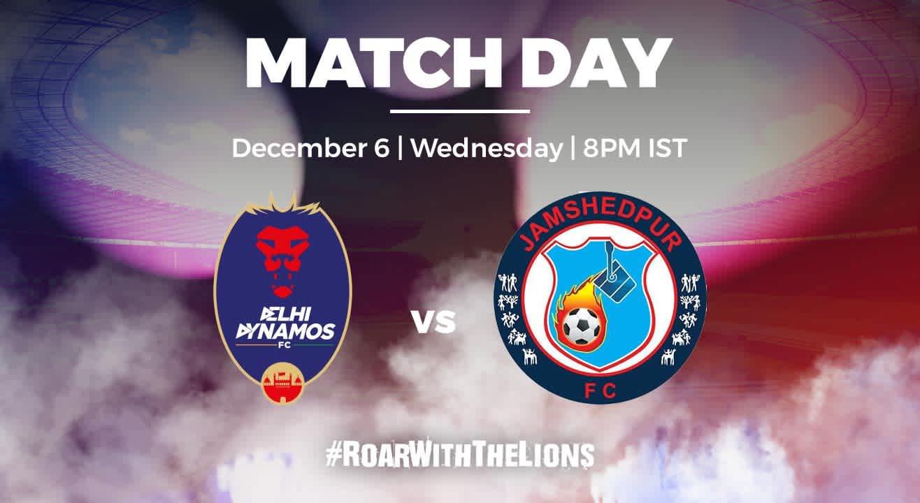 ISL: Delhi Dynamos FC vs Jamshedpur FC