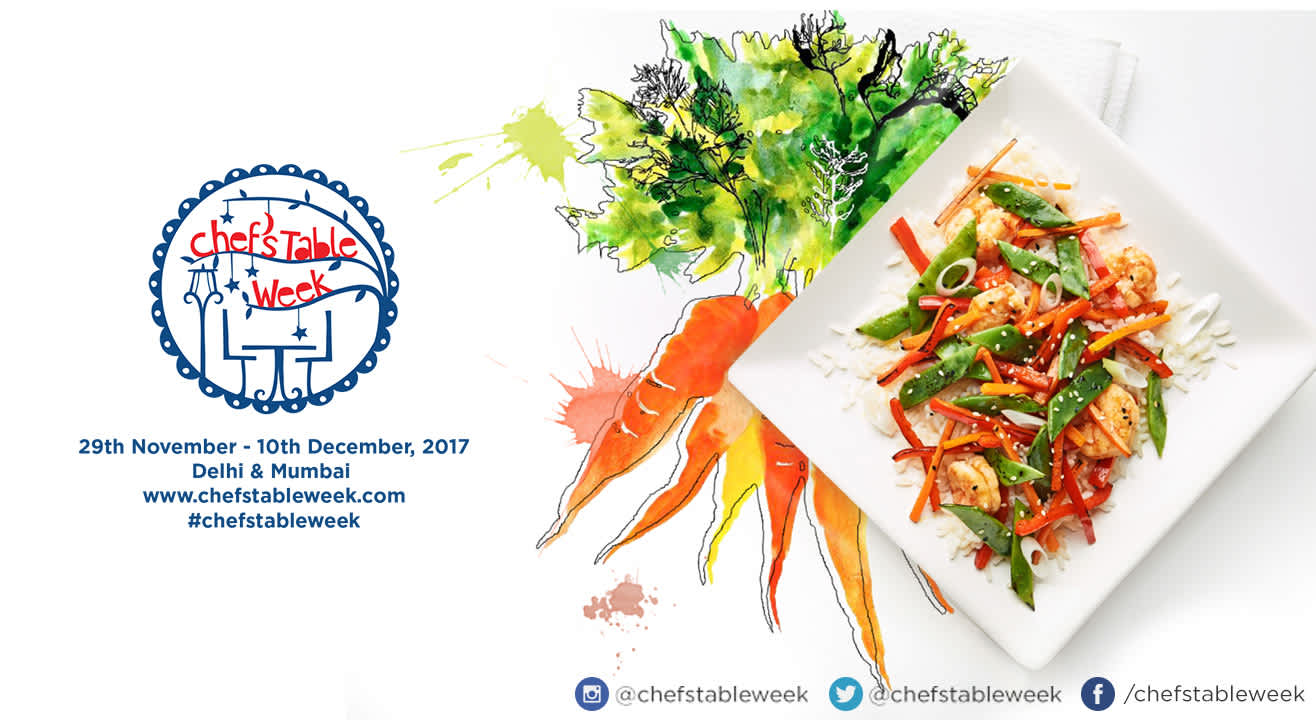 Chef's Table Week: 29th November – 10th December, 2017