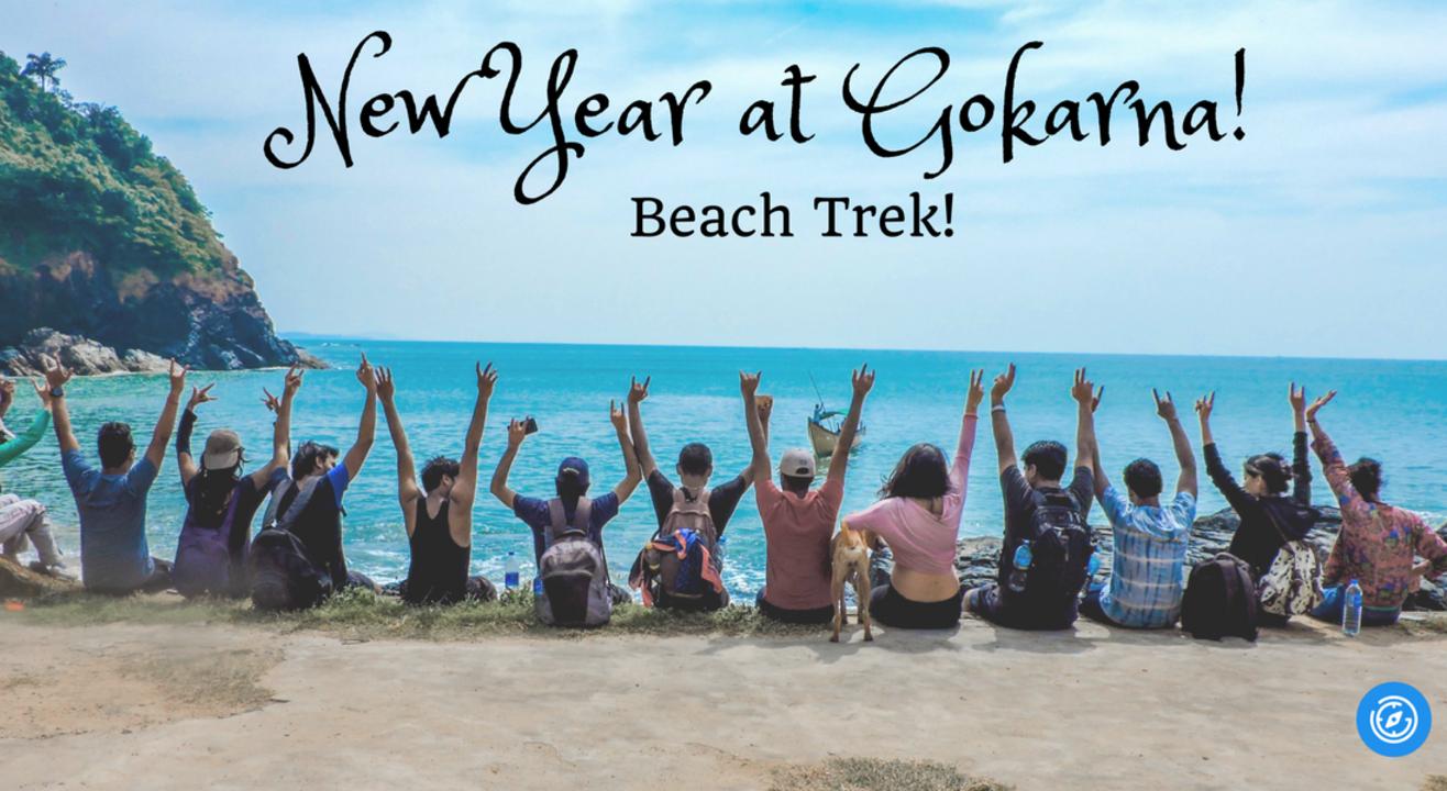 New Year at Gokarna! Beach Trek   Plan The Unplanned