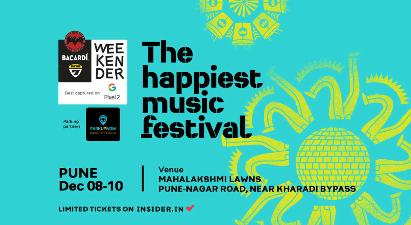 Parking Reservation for Bacardi NH7 Weekender, Pune