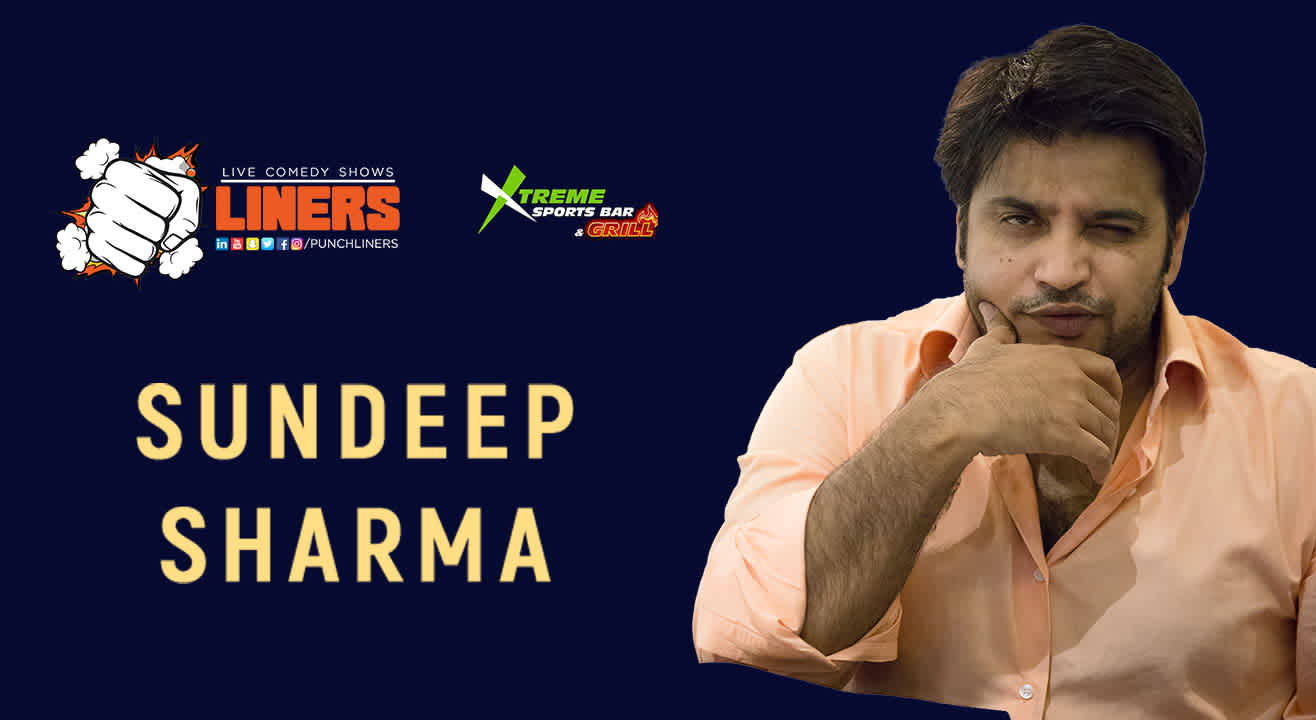 PunchLiners: Standup Comedy Show ft. Sundeep Sharma in Chandigarh