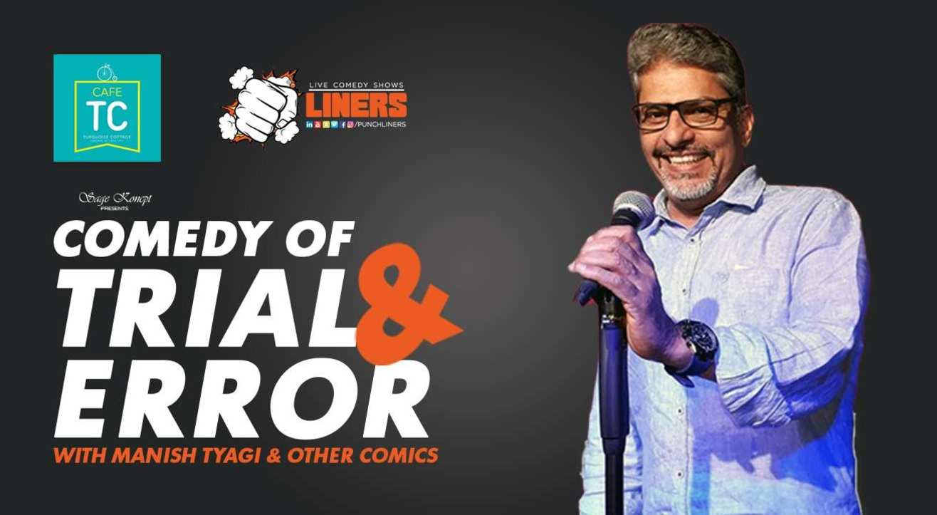 PunchLiners: Comedy Of Trial & Error w/ Manish Tyagi