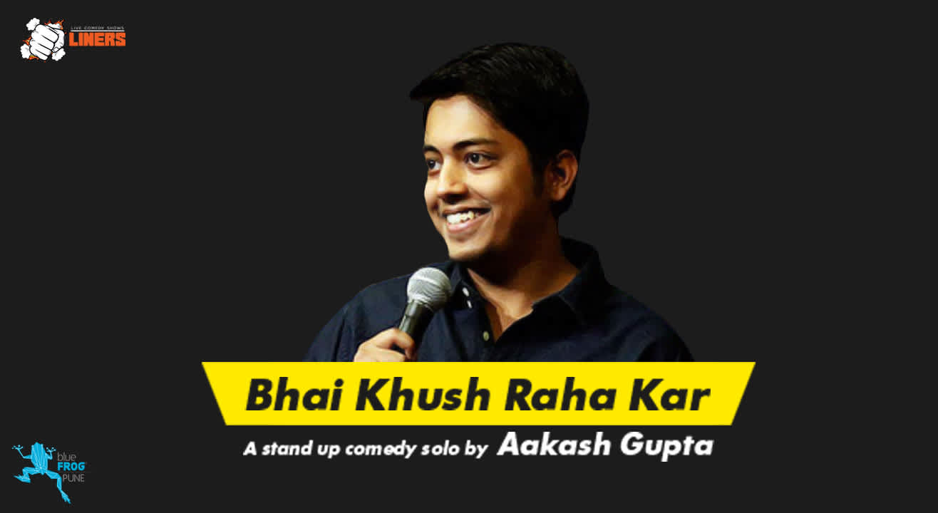 Punchliners: Standup Comedy Show ft. Aakash Gupta in Pune