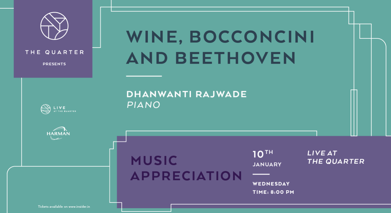 Wine, Bocconcini, and Beethoven at The Quarter