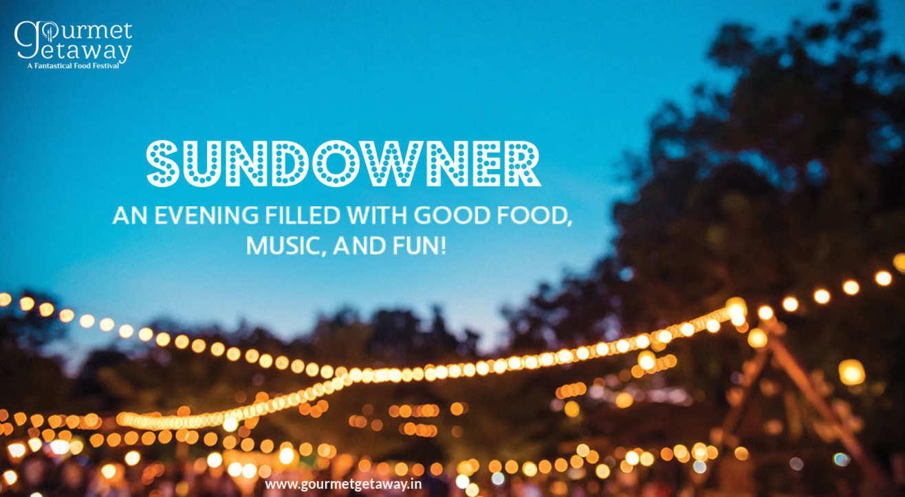 The Gourmet Getaway Sundowner at Nand Mahal