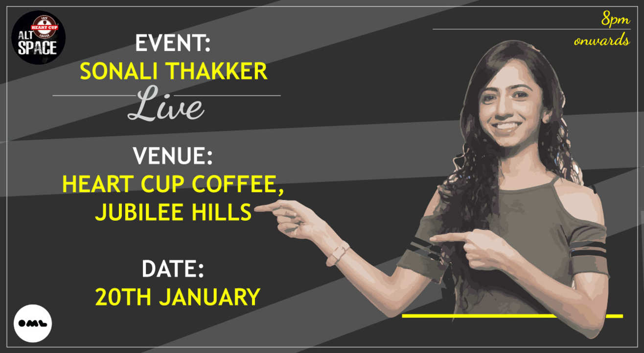 Almost There A Comedy Special by Sonali Thakker