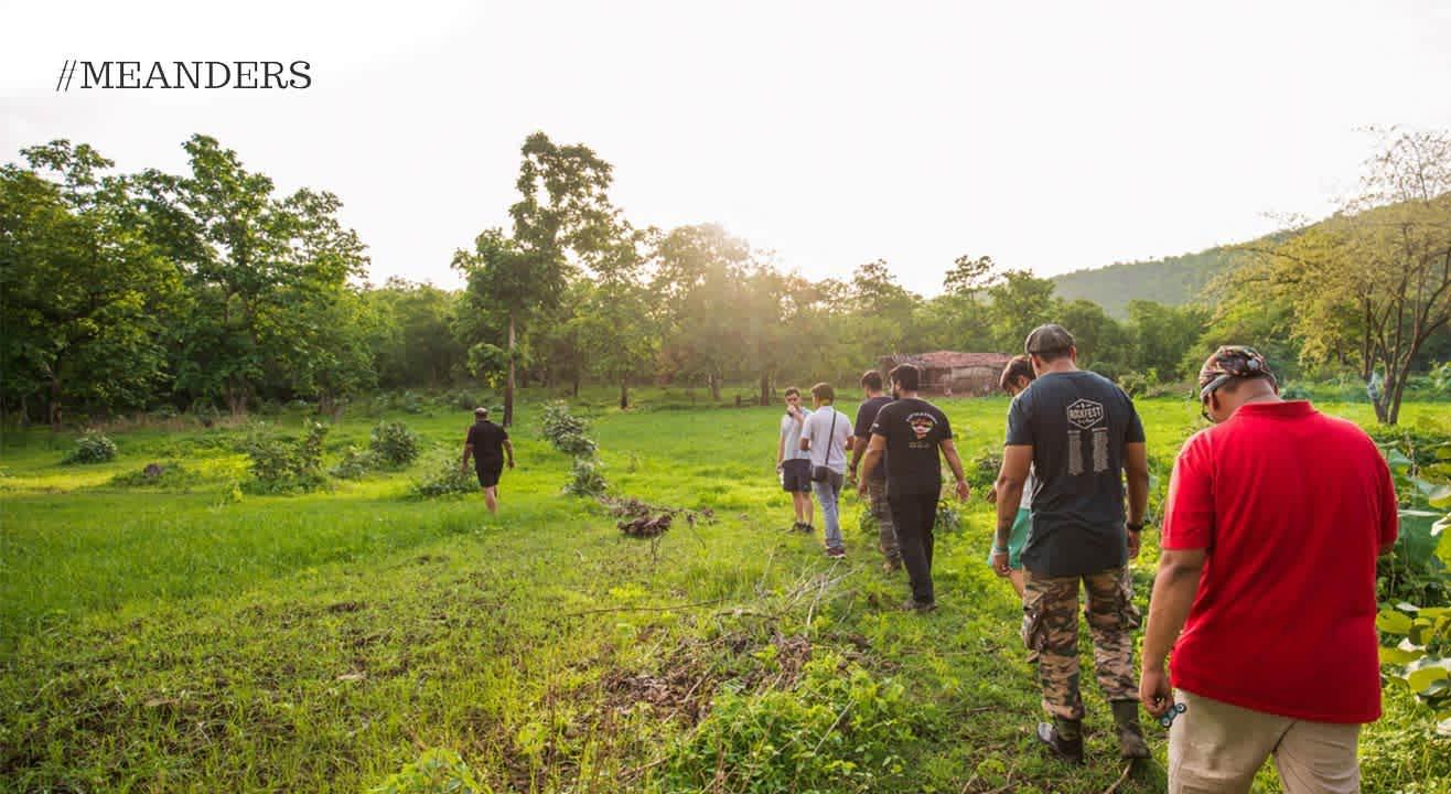 Trails of Vindhyas